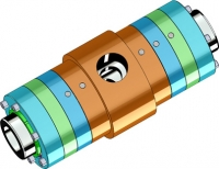 The stacked housing design allows the use of floating backup rings, for sealing extreme pressures in side port swivels