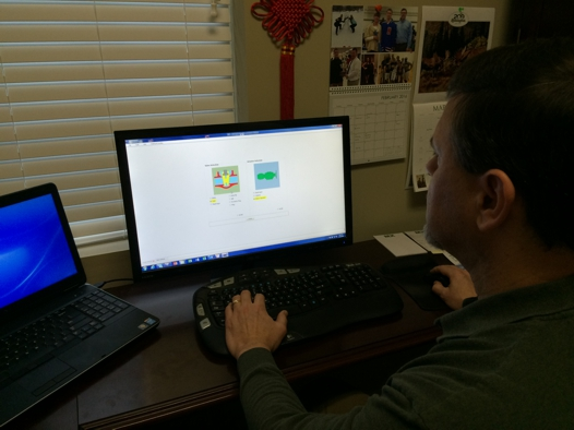 In this photo, a KVAP 4.0 user is selecting a valve and actuator combination to begin a new analysis.