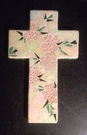 This is an example of the intricate mosaic artistry created by Isken Ward.