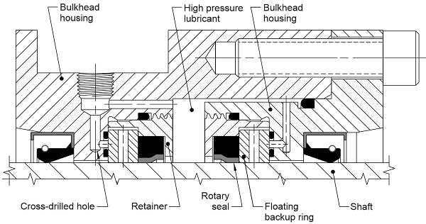 high pressure test fixture drawing