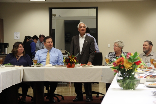 On November 16, 2015, Kalsi Engineering held a dinner celebrating John Schroeder's 20th anniversary with the company.