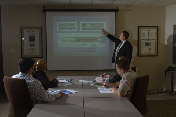 We provide seal-related training to the shop and engineering personnel of our customers.