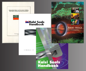 This shows the evolution of the Kalsi Seals Handbook between 1993 and 2017.