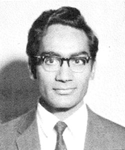 Photo of Kalsi as a graduate student at the University of Houston.