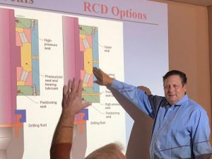 Our RCD seal training class covers seal implementation into RCDs with and without pressurized bearing lubricant.
