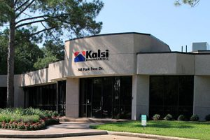 The facilities of Kalsi Engineering are located at the intersection of Park Two Drive and Jess Pirtle Boulevard, in Sugar Land, Texas. This is a photo of the building that is closest to the intersection, and faces Jess Pirtle Boulevard.